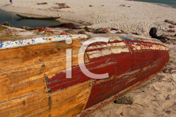 Royalty Free Photo of a Canoe