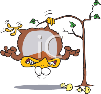 Royalty Free Clipart Image of a Partridge in a Pear Tree
