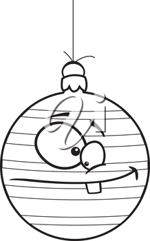 Royalty Free Clipart Image of an Ornament
