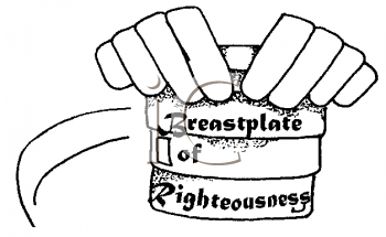 Royalty Free Clipart Image of Hands Holding an Item