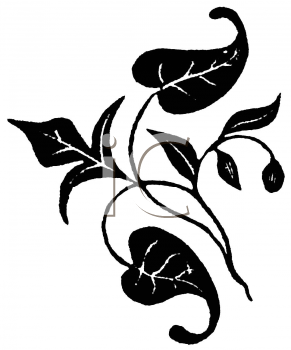 Royalty Free Clipart Image of Leaves