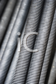 Royalty Free Photo of a Pile of Screws
