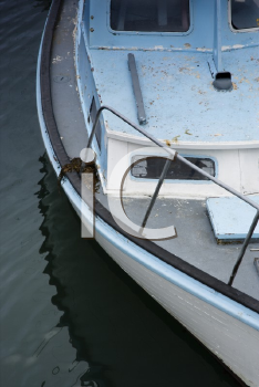 Royalty Free Photo of a Close-up of a Motor Boat in Water, Australia