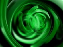 Royalty Free Video of a Green Abstract Pattern Moving in a Washing Machine Motion