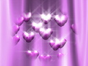 Royalty Free Video of Floating Hearts