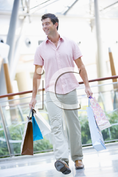 Royalty Free Photo of a Guy Shopping