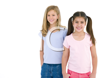 Royalty Free Photo of Little Girls