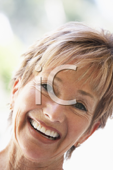 Royalty Free Photo of a Smiling Woman
