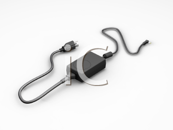 Royalty Free Clipart Image of a Power Supply