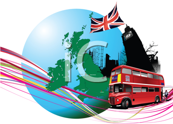 Royalty Free Clipart Image of England Images