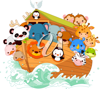 Illustration of Noah's Ark