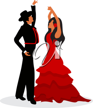 The Flamenco dancers