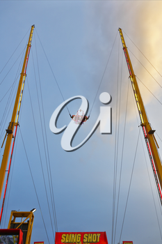 Royalty Free Photo of a Bungee Jump