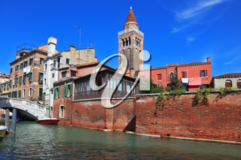 The most famous canal in the world - the Canale Grande in Venice