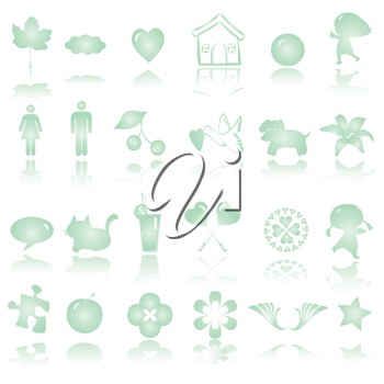 qute icons collection for kids
