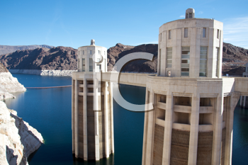 Royalty Free Photo of the Hoover Dam