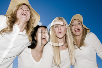 Royalty Free Photo of Laughing Women
