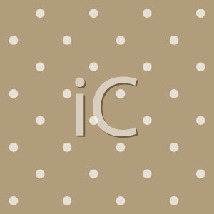 Royalty Free Clipart Image of a Brown Circle Background