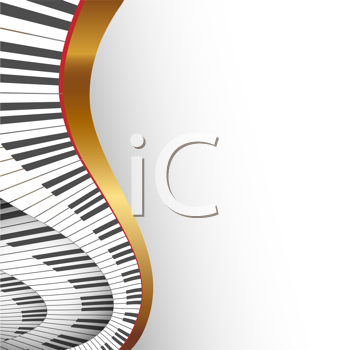 Royalty Free Clipart Image of a Keyboard Background