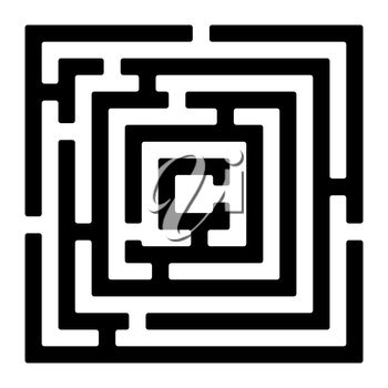 Royalty Free Clipart Image of a Rectangle
