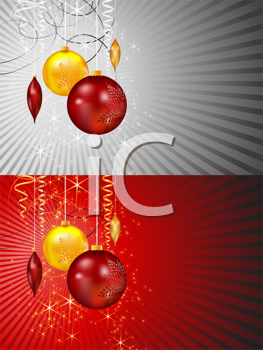 Royalty Free Clipart Image of Holiday Backgrounds