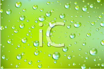 Royalty Free Clipart Image of a Splashed Background