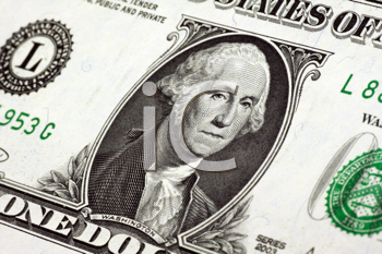 Royalty Free Photo of an American Dollar Bill