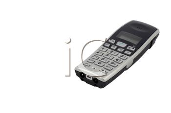 Royalty Free Photo of a Cordless Phone