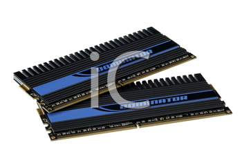 Computer accessories, the extreme computer memory, isolated, hyper DoF.