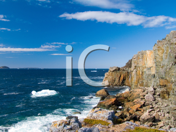 Royalty Free Photo of a Rocky Coastline