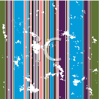 Royalty Free Clipart Image of a Grungy Striped Background