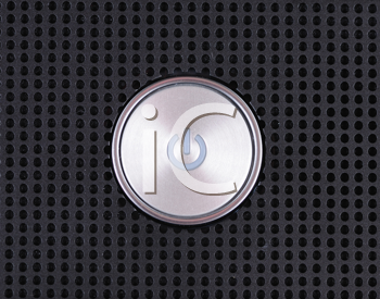 Royalty Free Photo of a Power Button