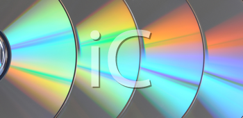 Royalty Free Photo of Disks