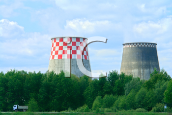 Royalty Free Photo of Power Stations