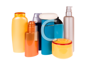 Royalty Free Photo of Cosmetic Bottles