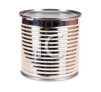 Royalty Free Photo of a Tin Can