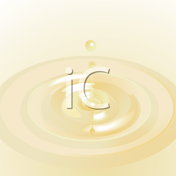 Royalty Free Clipart Image of a Water Droplet