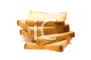 Royalty Free Photo of Bread Slices