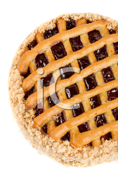 Royalty Free Photo of a Cherry Pie