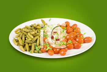 Royalty Free Photo of Marinated Vegetables