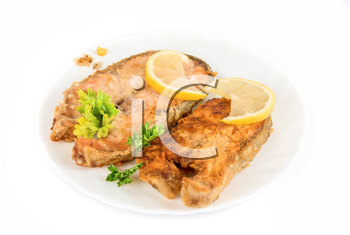Royalty Free Photo of a Fish Dish