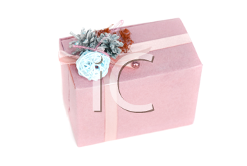 gift box isolated on a white background