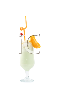 Royalty Free Photo of a Fruity Drink