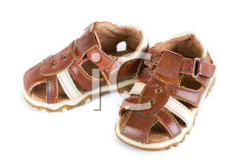 Royalty Free Photo of Baby Shoes