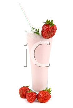 Royalty Free Photo of a Strawberry Cocktail