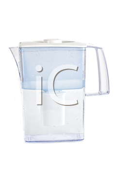 Water filter isolated on a white background
