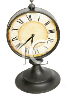 Royalty Free Photo of an Old Vintage Clock