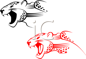 Royalty Free Clipart Image of Wildcats