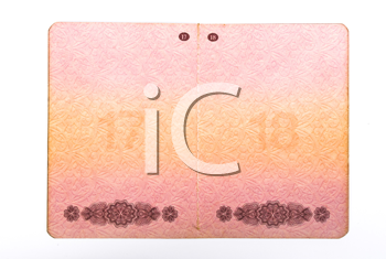 Royalty Free Photo of an Opened Russian Passport