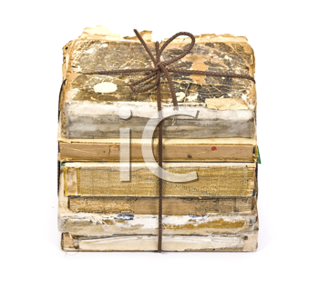 Royalty Free Photo of a Pile of Old Books